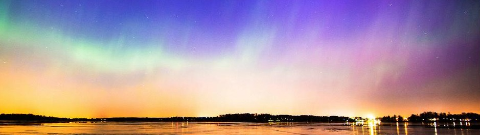 Aurora borealis, Helsinki